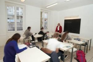 lycée Imes, salle de cours